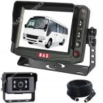 5inch Min Bus Reversing Monitor Camera Kit With 30 Degree Camera