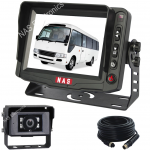 5inch Min Bus Reversing Monitor Camera Kit With 30 Degree Camera