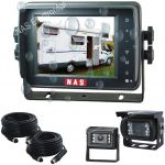 5inch Motor Home Reversing Camera Kit With Waterproof Touch Button Monitor And Two Camera