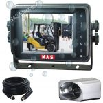 Forklift 5inch Waterproof Monitor Camera Reversing Kit