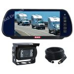 Rear-Vision Mirror Monitor Camera Kit