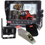 Waterproof Digital Wireless 7inch Monitor With Forklift Camera Battery Kit