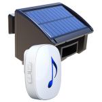 NAS Solar Driveway Alert Indoor Chime & Solar Sensor Beam Wireless Distance 500M (DW-N81SSB500M)