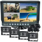 Farm View Range 9inch Quad Monitor with Four Cameras 110° (MFVQ94*15)
