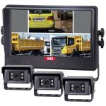"The best Quality Three camera Split Reversing Camera Kit 9"" Monitor Robust (MSQ9363*CS02)"