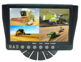 7inch Farmview Quad Monitor