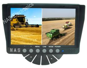 7inch Farmview Monitor Three Splits