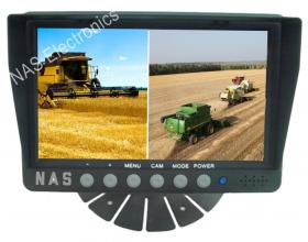 "7"" Quad Farmview Observation Monitor"