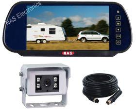 7inch Vehicle Mirror Monitor Camera Kit