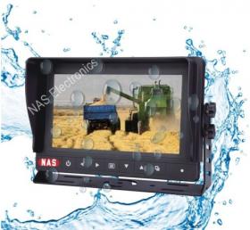 7inch farming reversing waterproof monitor