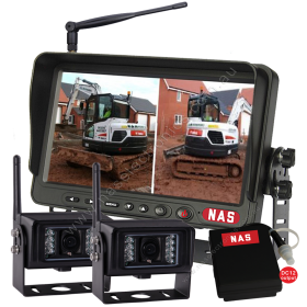 Digital Wireless 7inch Monitor Two Cameras & Battery Pack