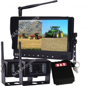 9inch Digital Wireless Camera Kit With Mobil Battery