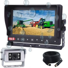 7inch Waterproof Monitor Kit With  One 120 ° CCD Waterproof Backup Camera