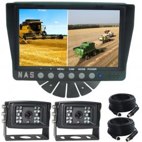 "Farm View Range  Safety Quad 7"" Monitor/Camera Kit With Two Cameras (R-MFVQ72*15)"