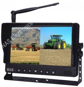 9inch Digital Wireless Monitor With Split Screen