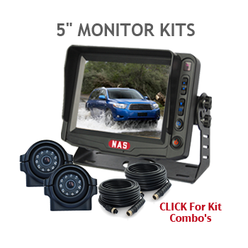 5inch monitor Backup Camera kits