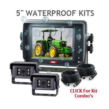 Waterproof Monitor and Cameras 5inch