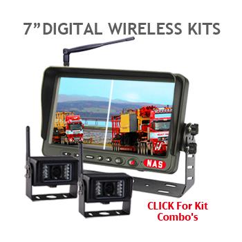 7inch digital Wireless Backup Camera Kit
