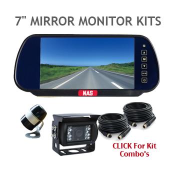 7inch Rear Vision backup Camera Kits