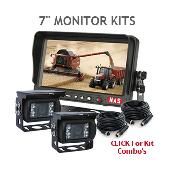 7inch Monitor that can take 3 backup cameras