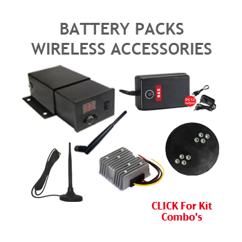 Battery Pack and Accessories for Digital Wireless