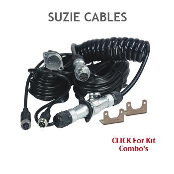 Suzie woza Curly Caravan Connection Cables