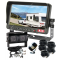 Caravan Cameras with Dual Camera 30° & 107° One Camera as a Backup Camera and the Other To View Whilst Driving & 150° Miniature Camera for the Back of the Car