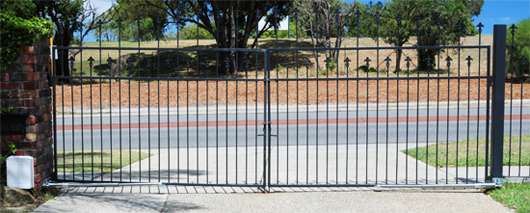 Wrought Iron Gate Automation