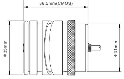 Dimension R-CS085 Reversing Camera