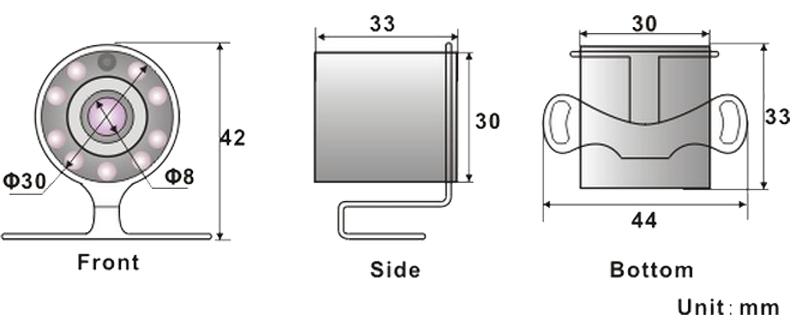 Dimensions R-CS080