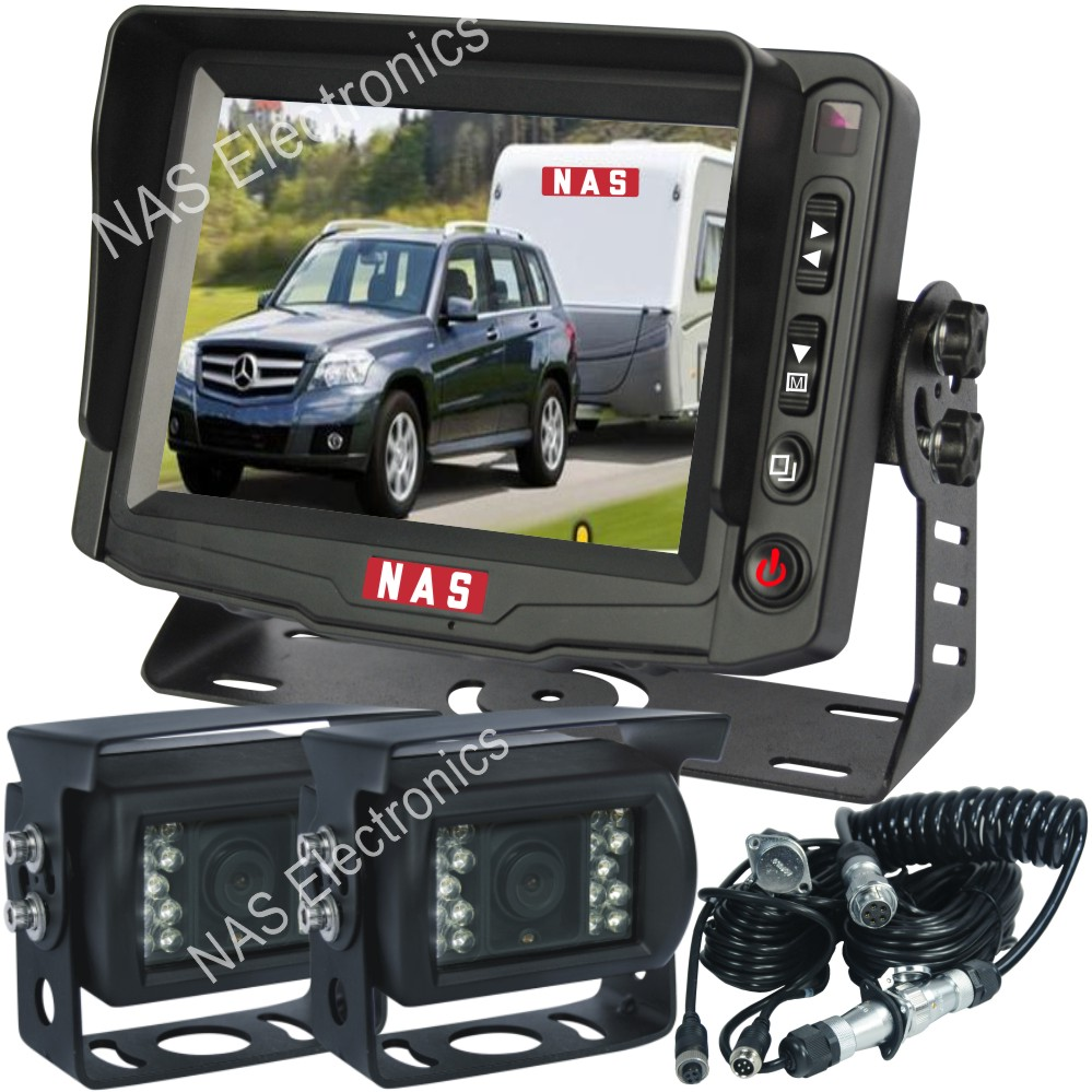 Carvan Reversing Camera Monitor Kit