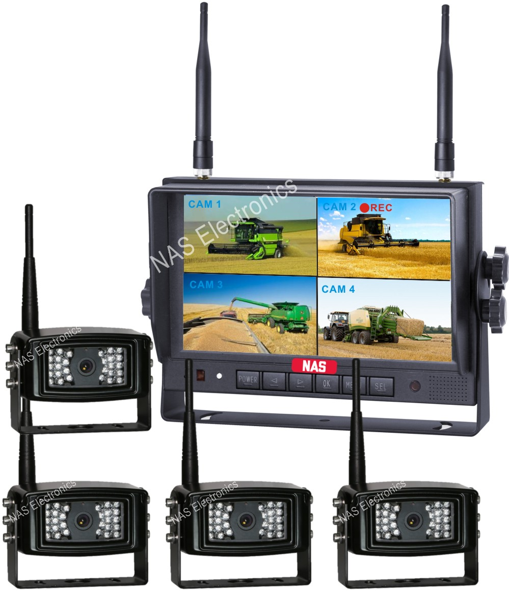 Digital Wireless Monitor and Camera for Farming