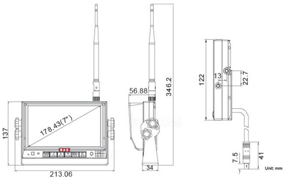 Digital wireless monitor measurement